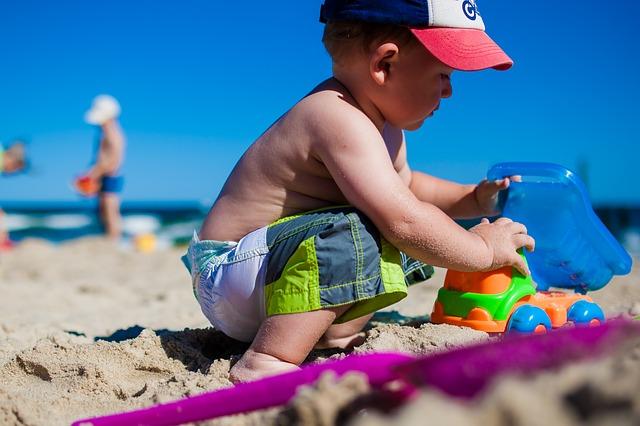 hrátky na písku