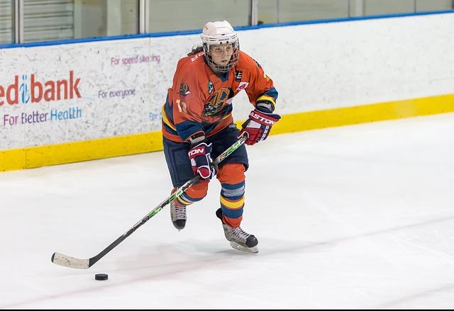 mladá hokejistka