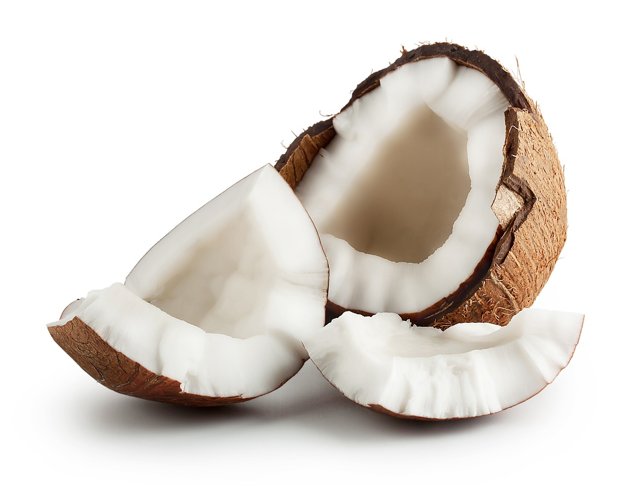 rozbitý kokos